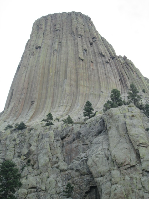 Devil's Tower Closeup II