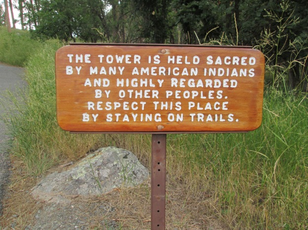 Devil's Tower Sign I