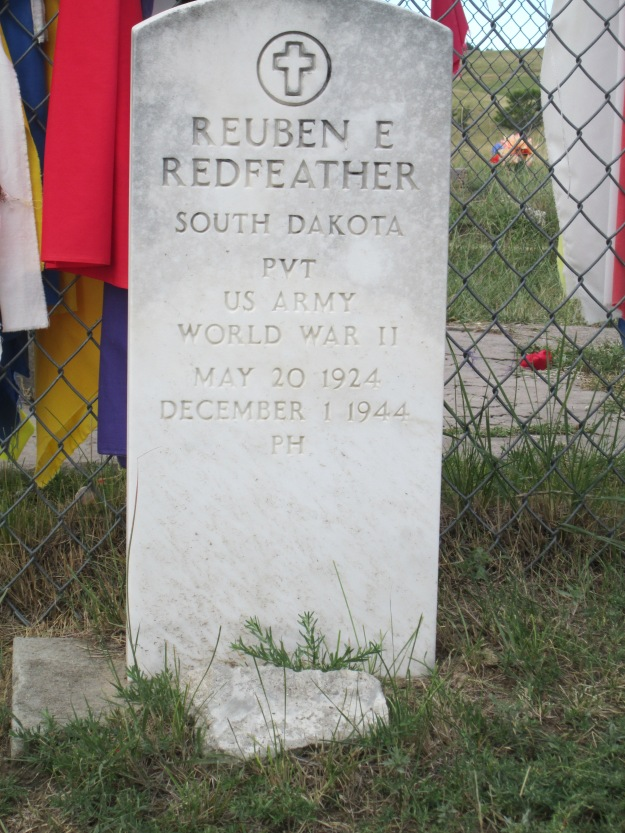 Wounded Knee Gravestone